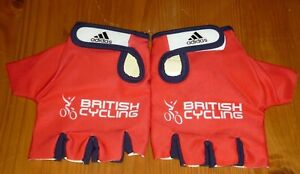ADIDAS BRITISH CYCLING TRACK MITTS BRAND NEW IN BAG SIZE SMALL
