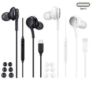 Headset Kopfhörer Usb C passend für Samsung Galaxy S20 FE/S20 FE 5G