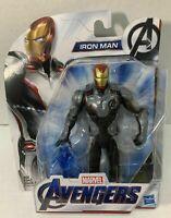 "Marvel Avengers: Endgame Team Suit Iron Man 6"" Action Figure Tony Stark NON MINT"