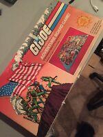Vintage Gi Joe 1982 Vintage Adventure Board Game  Hasbro  SUPER RARE