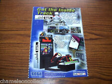 CART CLUB 2000 By SEGA NOS ORIGINAL VIDEO ARCADE GAME MACHINE FLYER BROCHURE