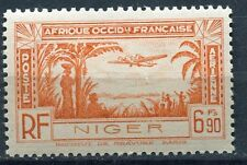 TIMBRE NIGER  NEUF *  N° 5 PA   POSTE AERIENNE AVION