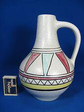 Rare 60´s design Ü - Keramik jug vase 305 / 22 #  Seltene Krug Vase Übelacker
