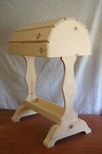 Classic Wood Saddle Stand / Unfinished natural - for English or Western saddles
