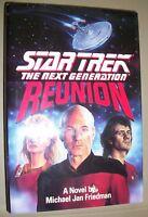 Reunion by Michael Jan Friedman (1991, Hardcover)