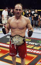 Randy Couture SIGNED 12x18 Photo UFC MMA LEGEND PSA/DNA AUTOGRAPHED
