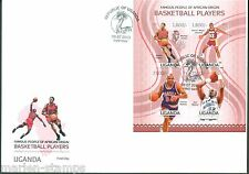 UGANDA FAMOUS PEOPLE OF AFRICAN ORIGIN BASKETBALL PLAYERS PIPPEN MALONE FDC