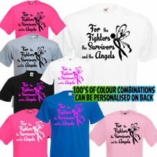 Charity Short Sleeve Personalised T-Shirts for Women