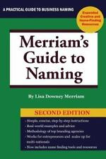 Merriam's Guide to Naming (Paperback or Softback)