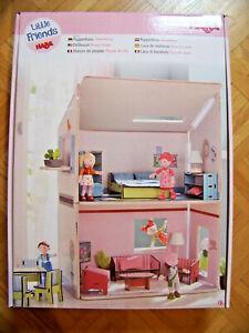 NEU HABA 302172 Little Friends Puppenhaus Traumhaus Spielzeug Haus Erweiterbar