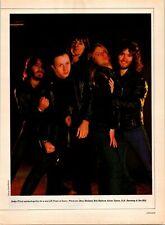 1981 Vintage 4Pg Magazine Print Article On Judas Priest/Rainbow@Castle Donington