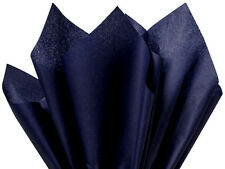 Solid Navy Tissue Paper # 577 ~ 10 Large Sheets