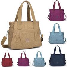 Womens Office Nylon Tote Bag Work Bag Ladies Shoulder Handbag New UK