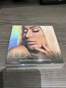 Brand New Huda Beauty Highlighter Palette Winter Solstice  RRP:£40.