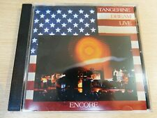 Tangerine Dream Live/Encore/1994 CD Album