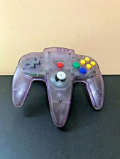 Nintendo 64 N64 Atomic Purple Controller - New Stick - Tested & Working