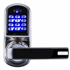 Ardwolf CJ8015 Electronic Keyless Keypad Door Lock, Code/Mifare Card/Mechanical