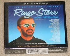 SEALED Ringo Starr & His All Starr Band–The Anthology So Far.Retro Gold version
