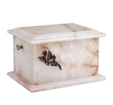 Stone Casket Natural Onyx Cremation Ashes Urn For Adult memorials Funeral URN