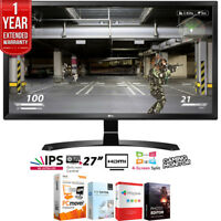 "LG 27UD58-B 27"" 4K Ultra HD IPS Freesync LED Monitor + Extended Warranty Pack"