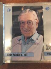 John R. Wooden Autograph Award Set