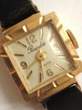 Gold Female Wrist Watch.