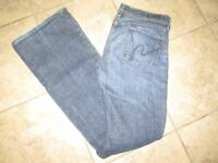 CITIZENS OF HUMANITY  29x34 Ingrid Stretch #002 Low Waist Flair Jeans
