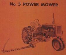 Allis Chalmers Ca No 5 Power Sickle Mower Owners Amp Repair Parts Manual Ac Hay