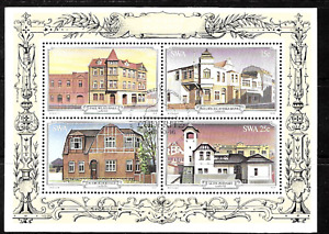 South West Africa .. Excellent used Mini-Sheet ....