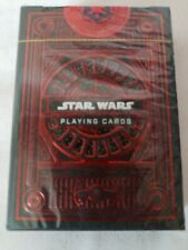 theory11 Star Wars Playing Cards - Dark Side Red Unopened New In Box
