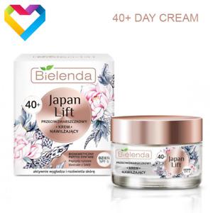 Bielenda JAPAN LIFT Moisturising Antiwrinkle DAY Face Cream 40+ Mature Skin 50ml