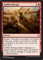 4x NM-Mint, English Foil Goblin Barrage - Foil Dominaria magicmtg
