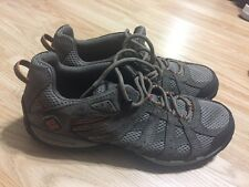 Columbia Mens Redmond LowTrail Shoe BM3937-227, Cordovan/Dark, US. Sz 8.5