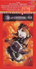 34 Disney G-Force Valentine Cards w/ 35 Glow-in-the-Dark