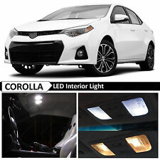 2015-2017 Toyota Corolla White Interior LED Light Package Kit + TOOL
