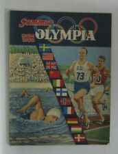 1960 Summer Olympics 'Olympia Rom 1960' Swedish Illustration Book