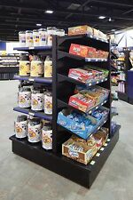 Royston 4 way Merchandiser with shelves