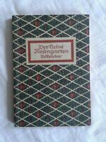 Der kleine Rosengarten, Volkslieder von Hermann Löns, Liederbuch 1939