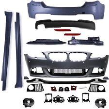 Komplett Bodykit Stoßstange Vorne Seite Hinten passend für BMW F10 M-Paket Umbau