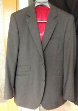 Herren Hose Jacket Sakko Anzug Scabal super 100's Gr. 50 52 grau neuwertig