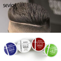 Sevich 100g Men's Shine Hair Clay High Strong Hold Low Shine Hair Styling Wax