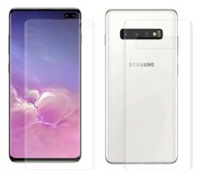 TPU CLEAR (2x Front + 2x Back) Screen Protector Film For Samsung Galaxy S10 PLUS