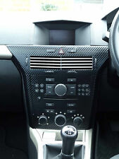 ASTRA H Mk5 (2004–2010) Carbon Fibre effect centre dash surround trim