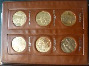 HOMMAGE AU GENERAL DE GAULLE -le medaillier paris - 23 medailles bronze