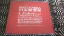 Max Tundra – Cakes RARE PROMO CD domino / TUNNG