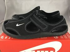 9be403036f34b NIKE SUNRAY PROTECT (PS) BLACK SANDAL SIZE 3Y