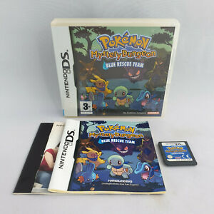 Nintendo DS NDS - Pokemon Mystery Dungeon Blue Rescue Team