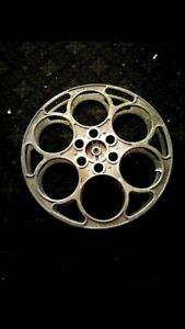 Vintage Goldberg Reels 15 inch Cast Aluminum EXCELLENT CONDITION