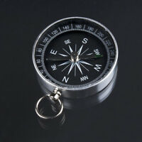 Pro Hiking Lightweight Aluminum Wild Survival Compass Navigation Tool Mini Newly