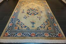 Feiner Handgeknüpfter China Art Deco Orientteppich Aubusson Carpet Rug 215x320cm